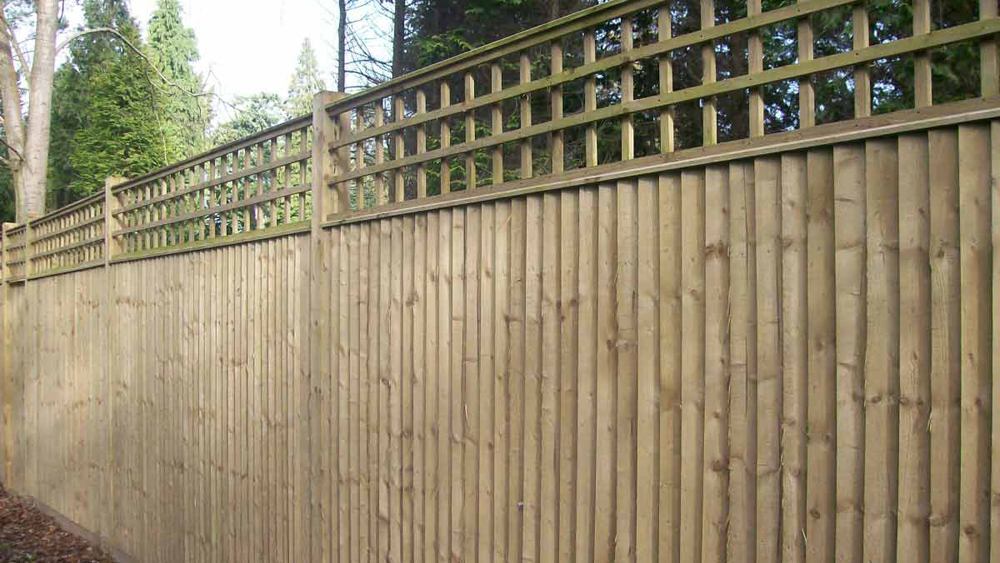 How to Install Close Board Fencing | Feather Edge Fencing