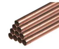 Copper pipes for water supply