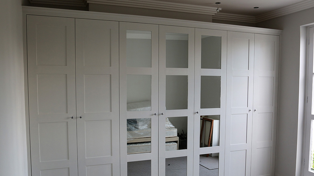 Hand Painted Cupboards