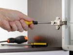 Kitchen Cupboard Door and Hinge Adjustment