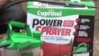 Cuprinol power sprayer