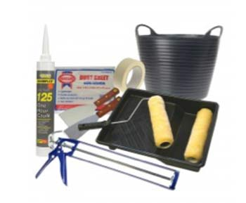 DIY Doctor decorators tool kit