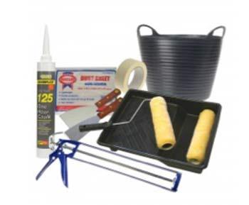 DIY Doctor decorators tool kit