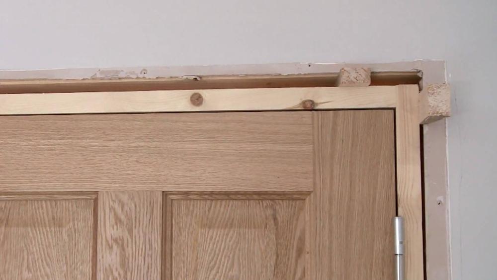 Door Liners and Door Frames | How to Fit a Door Frame ...