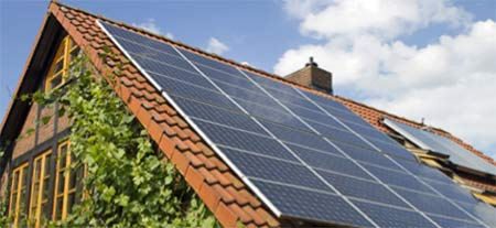 Electricity generation from solar panels