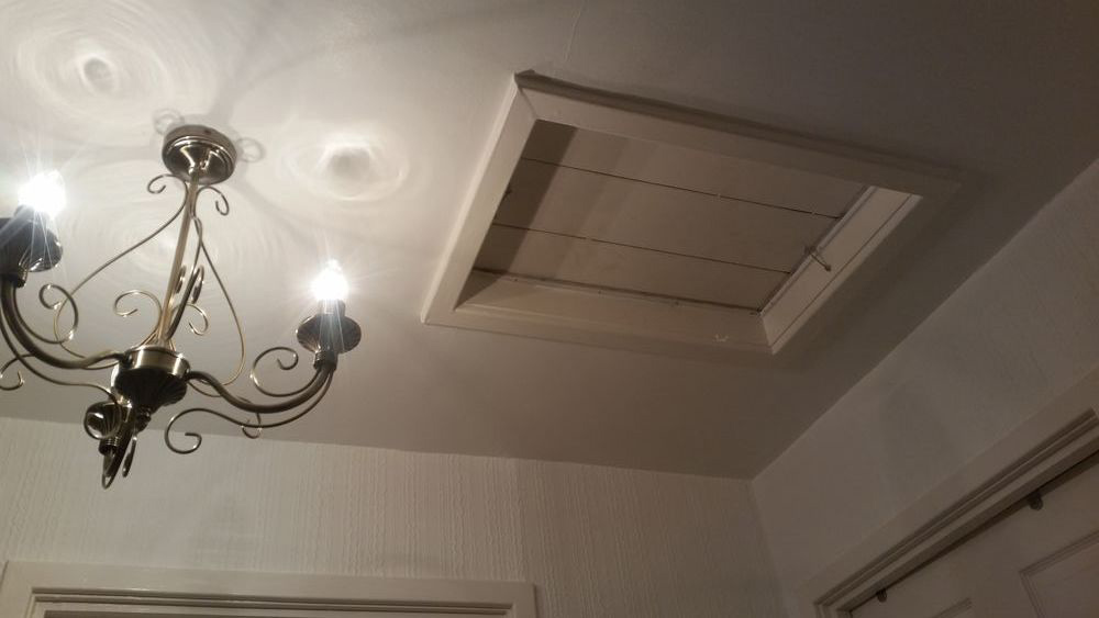 Diy Ceiling Hatch And How To Enlarge A Loft Hatch How To