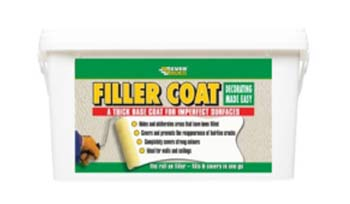 Giller coat for filling hair line cracks in walls