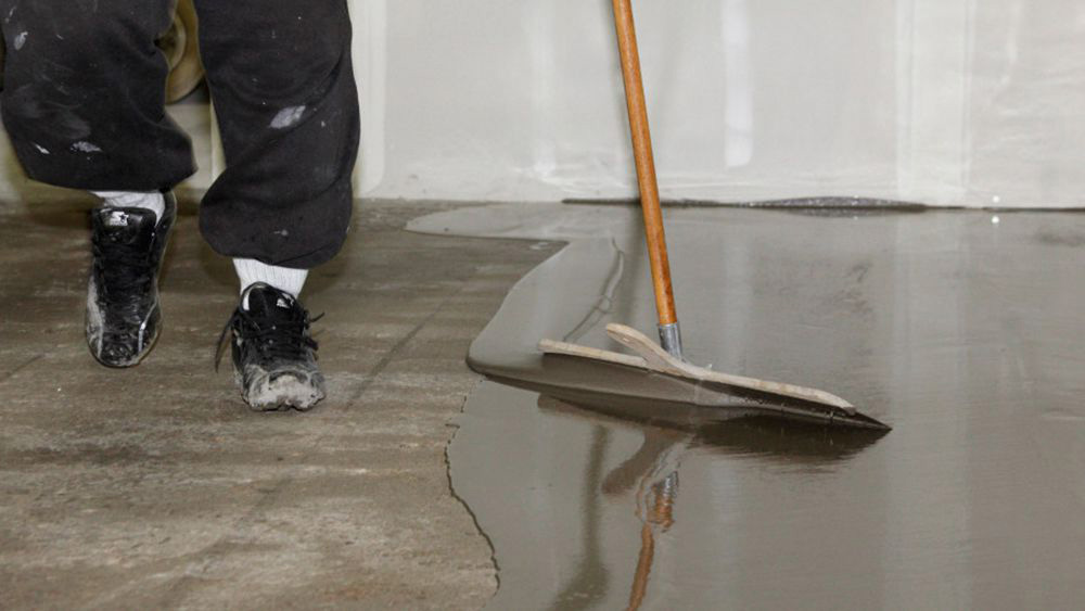 Levelling garage floors using self levelling screed diy doctor solutioingenieria Choice Image