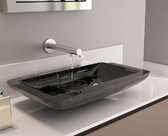 Glass designs basin