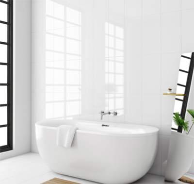 Gloss wall tiles