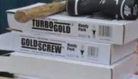 Goldscrew plus screws