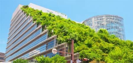 Acros Fukuoka Japan green building