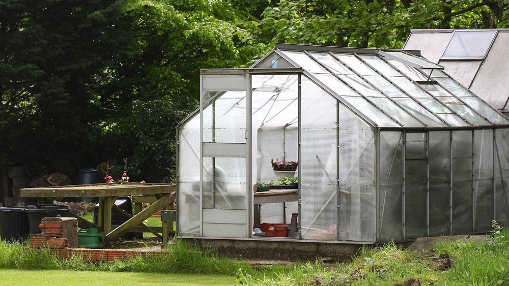 Greenhouse Flooring Diy
