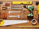Selection of hand and power tools