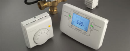 Two different types of heating controller