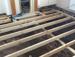 Suspended Timber Floor