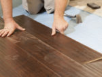 Laying Waterproof Laminate Flooring for a Kitchen or Bathroom