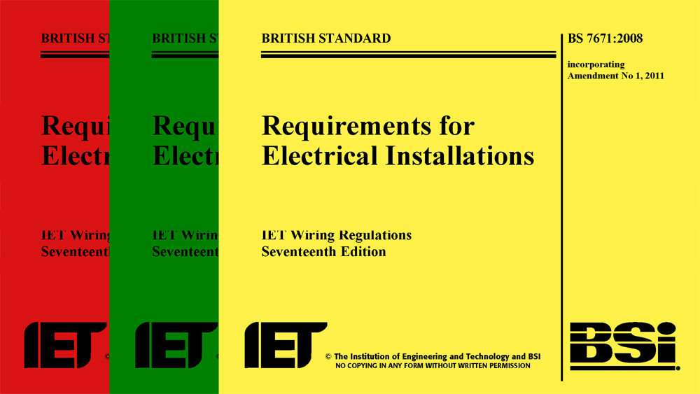 Miraculous 17Th Edition Wiring Regulations And The Iet Electrical Regulations Wiring Cloud Nuvitbieswglorg