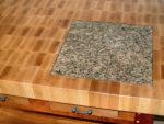 Granite or Marble Inserts in Worktop