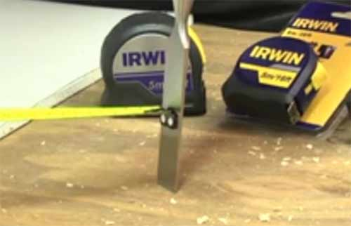 Irwin professional tape measure