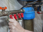 Loosening Jammed or Stuck Water Valves Including Taps and Tap Headgear