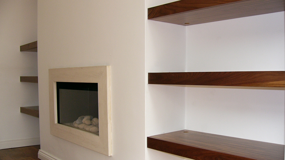 How To Build Alcove Shelving And Timber Shelves In A