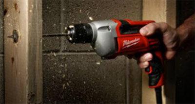 Corded Milwaukee power drill