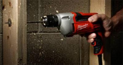Corded Milwaukee power drill