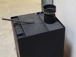 Multifuel woodburning stove