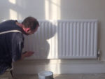 Painting a Radiator