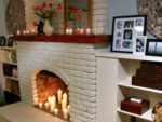 Painting Brick or Stone Fireplaces