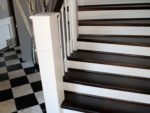 How to Paint Wooden Stairs