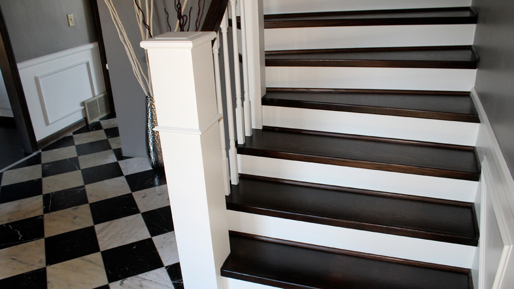 How To Paint Wooden Stairs And How To Prepare Timber Stairs For Painting |  DIY Doctor