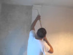 Painting New Plaster