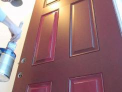 How to Paint Panel Door