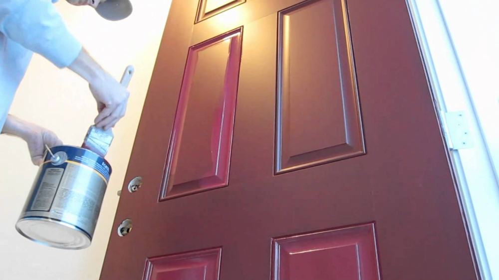 How To Paint A Panel Door And Preparing Wooden Panel Doors