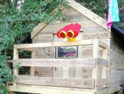 Kids playhouse or play fort