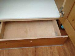 Kitchen unit plinth drawer