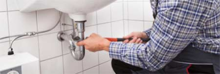 Plumbing in basin waste