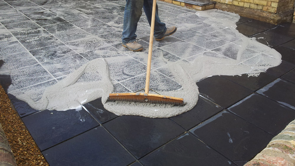 Pointing And Repointing Patio Slabs And Garden Paths The