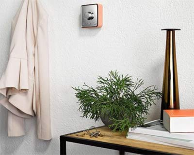Positioning room thermostat
