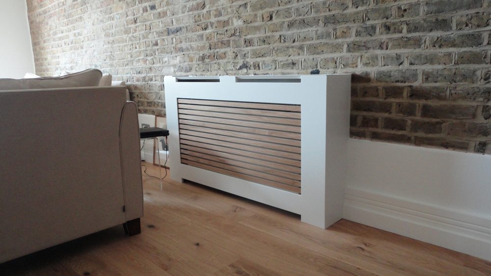Fitting Radiator Cabinets How To Fit A Radiator Cover