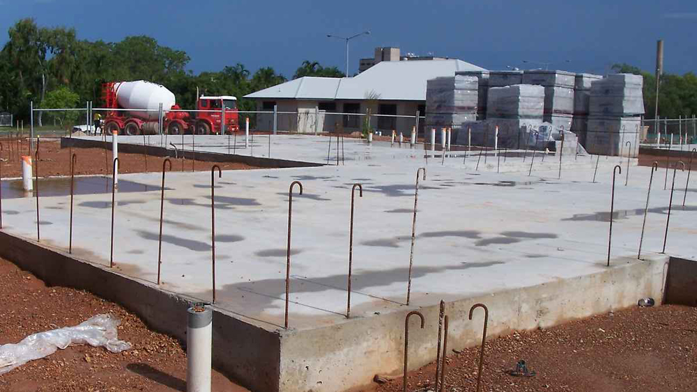Raft foundations concrete rafts advantages and for What is the best foundation for a house