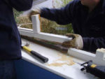 Removing a window jamb