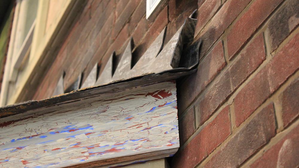 Repairing Lead Flashing Using Lead Flashing Tape Diy
