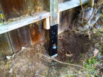 Repairing a Fence Post