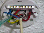 Wiring and Replacing a Light Fitting