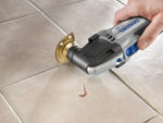 Replacing Grout Between Tiles or Raking Out Tiles for Regrouting Including How to Clean Mouldy Grout Lines