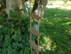 Rope ladder for tree house