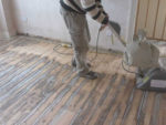 Sanding a Timber Floor